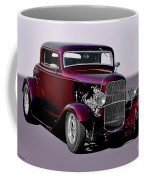 1932 Ford 'three Window' Coupe   Coffee Mug