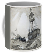 A Lightship's Xmas Dinner Coffee Mug