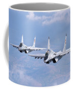 A Pair Of Bulgarian Air Force Mig-29s Coffee Mug