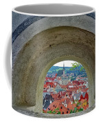 A View Of Cesky Krumlov In The Czech Republic Coffee Mug