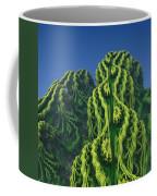 Abstract Fractal Landscape Coffee Mug