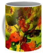 Abstract Landscape, Fall Theme Coffee Mug
