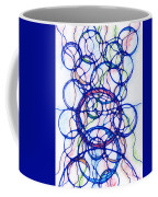 Abstract Pencil Pattern Coffee Mug