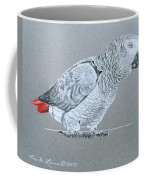 African Grey Parrot  Coffee Mug