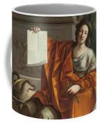 Allegory Of Geometry Coffee Mug