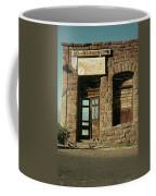 American Pool Hall  Version 2 Facade Ghost Town Jerome Arizona 1968 Coffee Mug