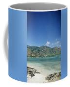 Areia Branca Tropical Beach View Near Dili In East Timor Coffee Mug