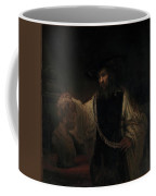 Aristotle With A Bust Of Homer Coffee Mug