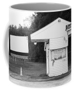 Auburn, Ny - Drive-in Theater Bw Coffee Mug