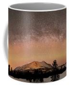 Aurora Borealis And Milky Way Coffee Mug