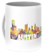 Austin Texas Skyline Coffee Mug