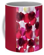 Back Lit Flower Petals 1 Coffee Mug