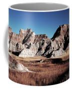 Badlands At Sunset Coffee Mug