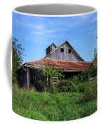 Barn In The Blue Sky Coffee Mug