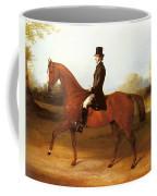 Barraud Henry Richard Paget Of Cropston Leicester On A Bay Hunter Henry Barraud Coffee Mug