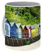 Beach Huts Coffee Mug