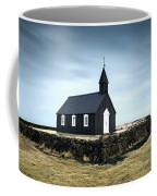 Black Church Of Budir, Iceland Coffee Mug