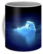 Blue Icebergs And Ice Chunks In Water Nearby Alaska Coffee Mug
