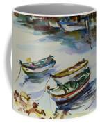 3 Boats I Coffee Mug