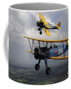 Boeing Stearman Model 75 Kaydet In U.s Coffee Mug