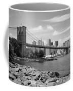Brooklyn Bridge - New York City Skyline Coffee Mug