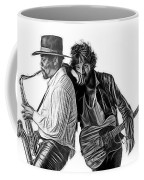Bruce Springsteen Clarence Clemons Collection Coffee Mug