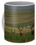 3 Bucks Bounding Away Coffee Mug