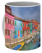 Burano - Venice - Italy Coffee Mug by Joana Kruse
