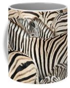 Burchells Zebras Equus Quagga Coffee Mug