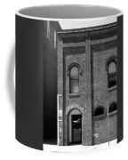 Burlington North Carolina - Arches And Alley Bw Coffee Mug