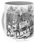 California Gold Rush, 1860 Coffee Mug
