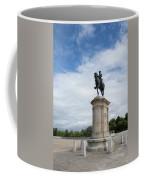 Chantilly Castle Garden In France Coffee Mug