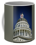 City Views Around California State Capitol Building In Sacrament Coffee Mug