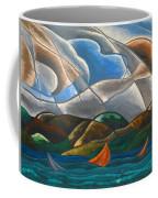 Clouds And Water Coffee Mug