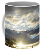 Cloudy Blue Coffee Mug