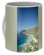 Coast And Beach View Near Dili In East Timor Leste Coffee Mug