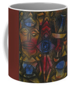 Collection Of Figurines Coffee Mug