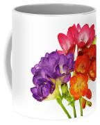 Colorful Freesias Coffee Mug