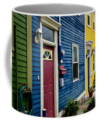 Colorful Houses In St. John's Coffee Mug