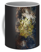 Conceptual Illustration Of Atomic Clock Coffee Mug