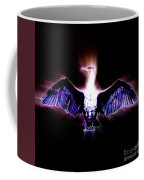 Cormorant Dries Its Wings Coffee Mug