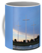 3 Cross Sunset Coffee Mug