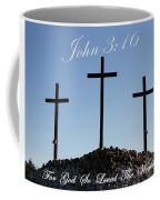 3 Crosses Coffee Mug