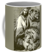 Daniel In The Lions Den Coffee Mug