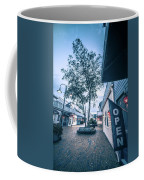 Downtown Of Newport Rhode Island At Dusk Hours Coffee Mug