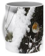 European Robin Erithacus Rubecula Coffee Mug