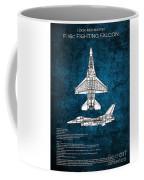 F16 Fighting Falcon Coffee Mug