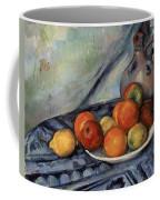 Fruit And A Jug On A Table Coffee Mug