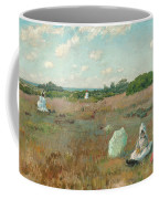 Gathering Autumn Flowers Coffee Mug