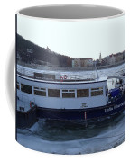 Genre Picture By Frozen Danube Coffee Mug